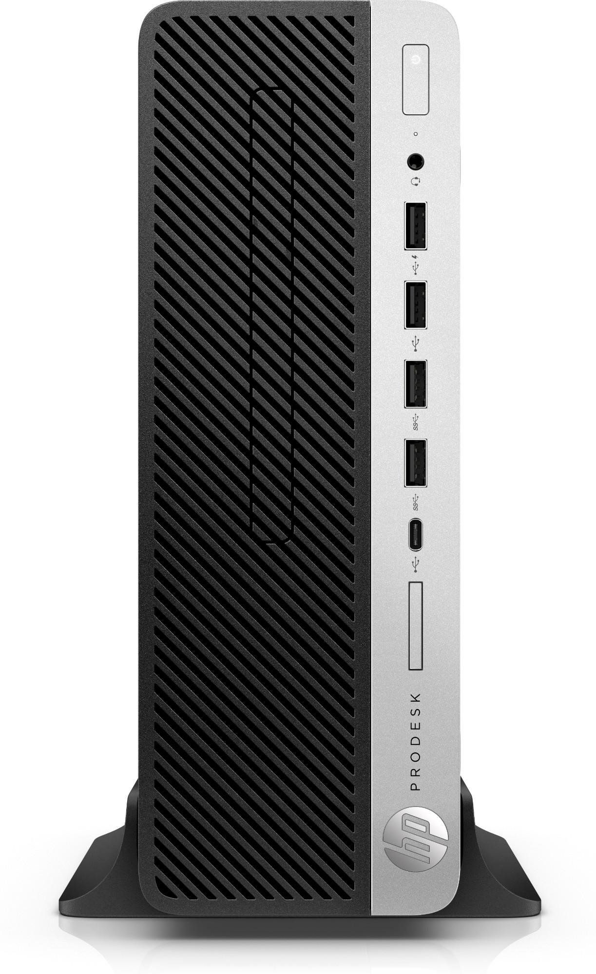HP ProDesk 600 G4 8th gen Intel® Core™ i5 i5-8500 8 GB DDR4-SDRAM 500 GB HDD Black SFF PC