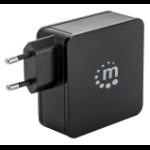 Manhattan 180214 mobile device charger Indoor Black
