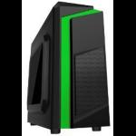 Computadora CPU GAMING AMD A4, TARJETA MADRE GIGABYTE GA-F2A68HM, RAM 16GB DDR3 (2x8GB), Disco Duro 2TB, WiFi, Gabinete 3Z22 VERDE + TECLADO GAMINGy MOUSE GAMING
