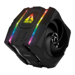 ARCTIC Freezer 50 incl. A-RGB Controller - Multi Compatible Dual Tower CPU Cooler with A-RGB