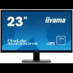 "iiyama ProLite XU2390HS 58.4 cm (23"") 1920 x 1080 pixels Full HD LED Black"