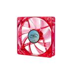 Deepcool 120mm XFAN120U Red Frame &  LED 1300RPM Fan