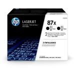 HP CF287XD (87X) Toner black, 18K pages, Pack qty 2