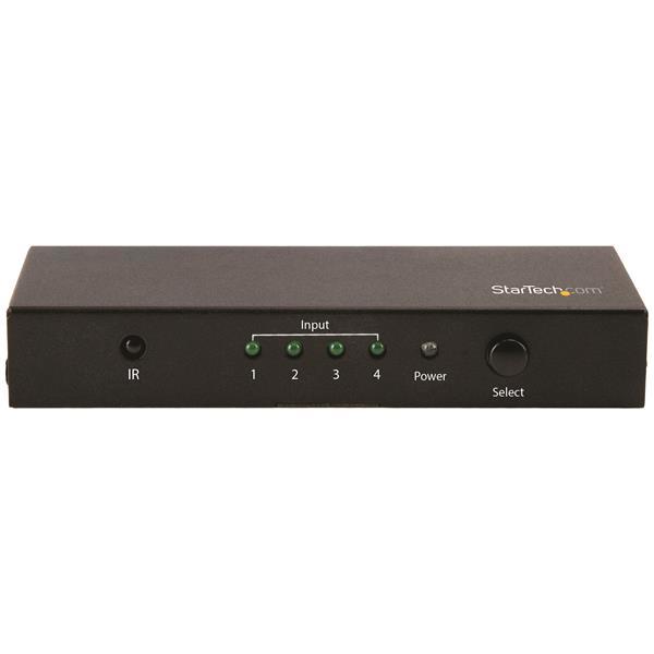 StarTech.com 4-Port HDMI Automatic Switch - 4K 60Hz video switch