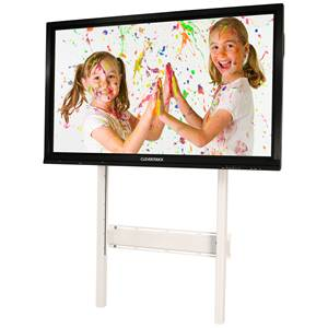 Loxit Wall Mount Screen Lift 750 for all models Clevertouch, adj. height mechanism **WHITE*