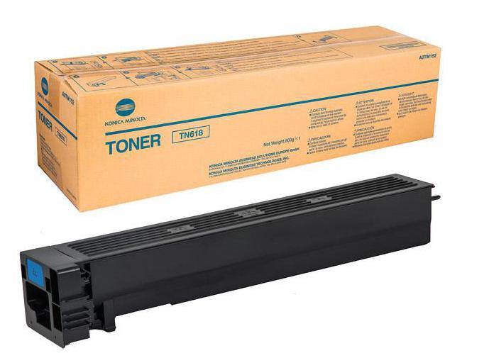 Konica Minolta A0TM152 (TN-618 K) Toner black, 37.5K pages
