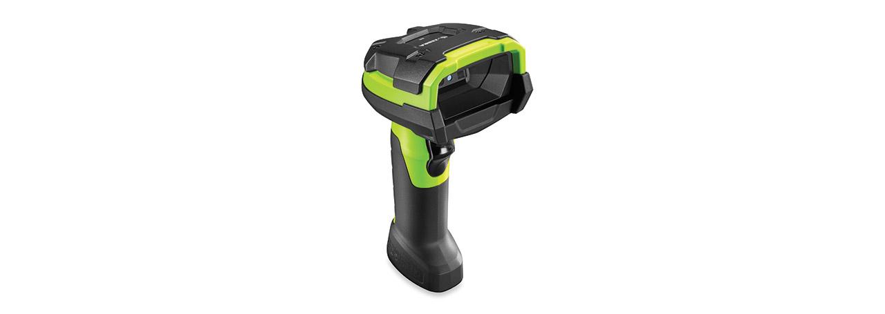 Zebra DS3608-SR Handheld 1D/2D Black,Green