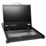 "Tripp Lite B070-008-19-IP 19"" 1366 x 768pixels rack console"