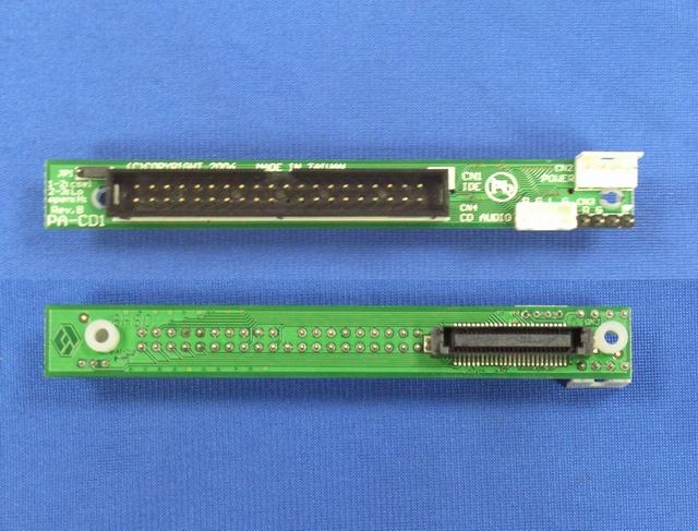 MicroStorage IDE odd adapter