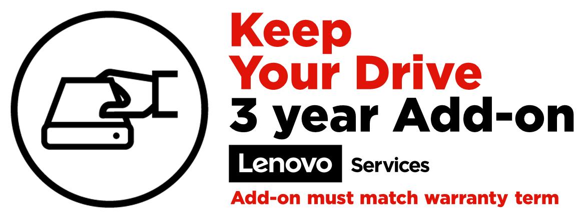 Lenovo 3Y Keep Your Drive