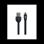 PERFECT CHOICE CABLE MICRO USB EASY LINE BY PERFECT CHOICE CABLE PLANO DE CARGA Y DATOS NEGRO dir