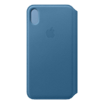 "Apple MRX52ZM/A 6.5"" Folio Blue mobile phone case"