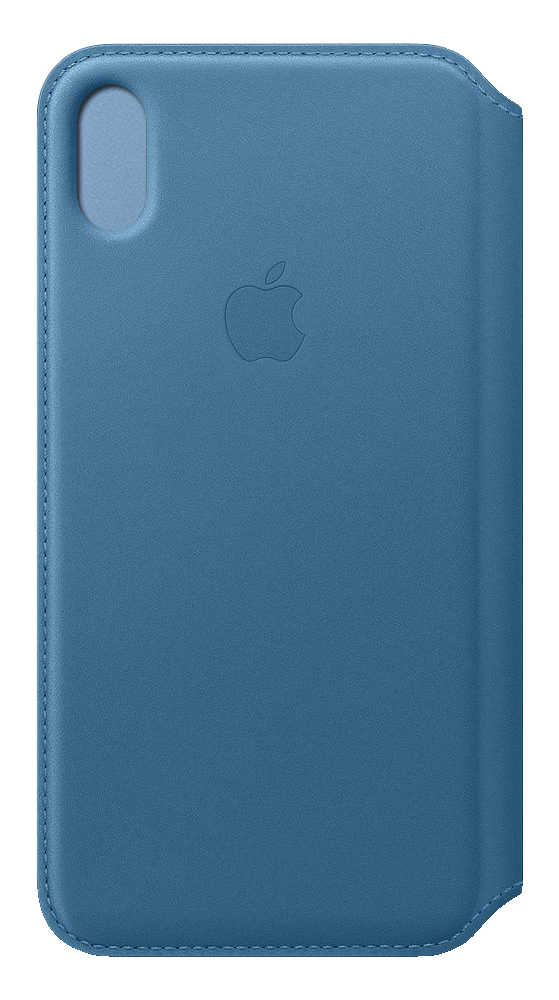 iPhone Xs Max - Leather Folio - Cape Cod Blue