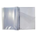 Elba Punched Pkt Pad 60 Pockets A4 Clr