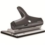 Rapesco ALU Adjustable Punch 2 3 or 4 Hole Black/Silver Ref 1205