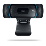 Logitech B910 5MP USB 2.0 Black webcam
