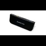iogear GUD300 USB 3.0 (3.1 Gen 1) Type-A Black notebook dock/port replicator