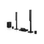 LG LHB645N home cinema system 5.1 channels 1000 W 3D Black