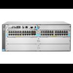 Hewlett Packard Enterprise 5406R 44GT PoE+ & 4-port SFP+ (No PSU) v3 zl2 Managed L3 Gigabit Ethernet (10/100/1000) Power over Ethernet (PoE) 4U Gray