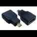 MCL CG-285 adaptador de cable HDMI A F HDMI micro-D M Negro