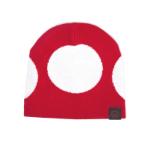 Nintendo Super Mario Bros. Red Mushroom Cuffless Beanie, One Size, Red/White (KC180211NTN)