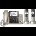 Panasonic KX-TGF352N DECT Caller ID Champagne Telephone