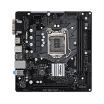 Asrock H470M-HDV Intel H470 LGA 1200 (Socket H5) micro ATX