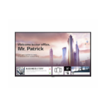 "LG UH5F Digital signage flat panel 55"" IPS 4K Ultra HD Black Built-in processor Web OS"