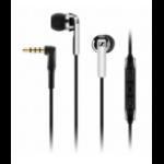 Sennheiser CX 2.00i auriculares para móvil Binaural Dentro de oído Negro Alámbrico