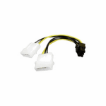 Akasa AK-CB4-6 4-pin PCIe cable interface/gender adapter