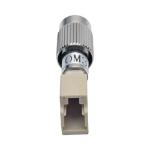 Tripp Lite T020-001-LC10G fiber optic adapter FC/LC 1 pc(s) Beige, Silver