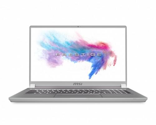 """MSI Prestige P75 9SF-816UK Creator Silver Notebook 43.9 cm (17.3"""") 3840 x 2160 pixels 8th gen Intel® Core™ i9 32 GB DDR4-SDRAM 1000 GB SSD Windows 10 Pro"""