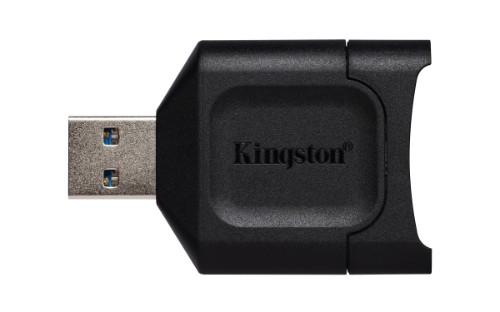 Kingston Technology MobileLite Plus card reader Black USB 3.2 Gen 1 (3.1 Gen 1) Type-A