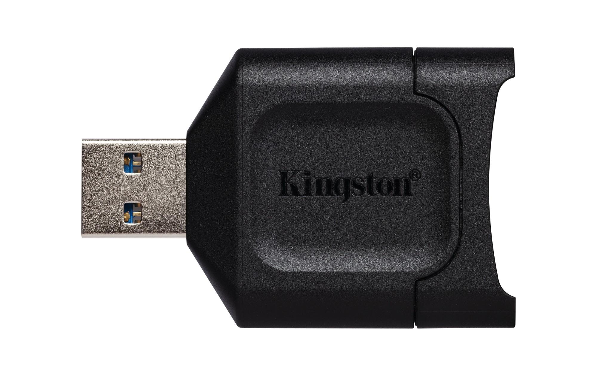 Kingston Technology MobileLite Plus card reader Black USB 3.2 Gen 1 3.1 Gen 1 Type-A