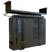 Newstar Under Desk PC Mount (Suitable PC Dimensions - Height: 0-55 cm / Width: 5-24 cm) - Black