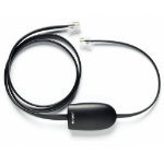 Jabra Link 14201-19 RJ 9 Male RJ 9 Male Black cable interface/gender adapter