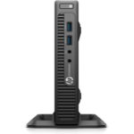 HP EliteDesk 705 G3 2.9GHz PRO A12-8870E Mini PC Black Mini PC
