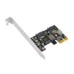 Siig DP SATA II PCIe interface cards/adapter Internal