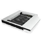 "ICY BOX IB-AC649B HDD/SSD enclosure 2.5"" Silver"