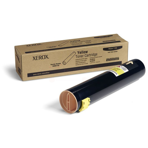 Xerox 106R01162 Toner yellow, 25K pages @ 5% coverage