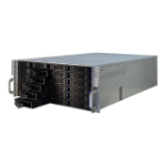 TGC Rack Mountable Server Chassis 4U 650mm Depth with 24 Bays Hot-Swap and Redundant 2U PSU Window