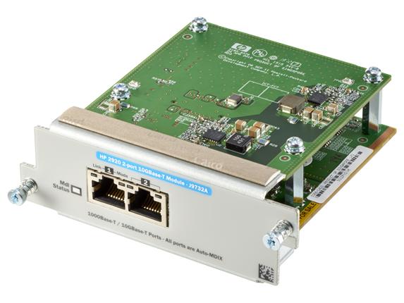 Hewlett Packard Enterprise 2920 2-port 10GBASE-T 10 Gigabit Ethernet,Fast Ethernet,Gigabit Ethernet network switch module
