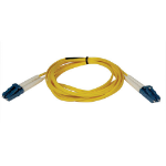 Tripp Lite Duplex Singlemode 8.3/125 Fiber Patch Cable (LC/LC), 15M