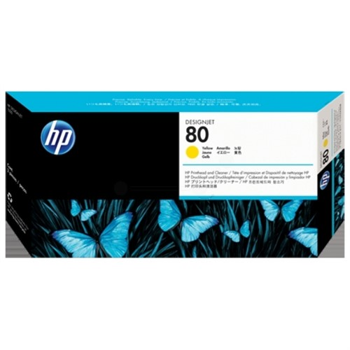 HP C4823A (80) Printhead yellow, 2.5K pages, 17ml