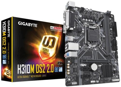 Gigabyte H310M DS2 2.0 motherboard LGA 1151 (Socket H4) Micro ATX Intel® H310