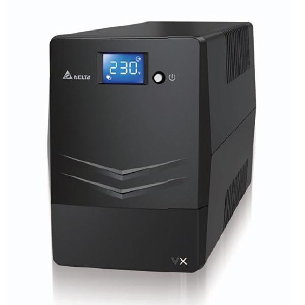 DELTA VX Line Interactive 1000VA/600W Mini Tower UPS, 4x AU Outlet, 10A Input Cord, Free UPS Management So