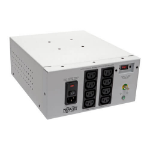 Tripp Lite IS1000HGDV Isolator Series Dual-Voltage 115/230V 1000W 60601-1 Medical-Grade Isolation Transformer, C14 Inlet, 8 C13 Outlets