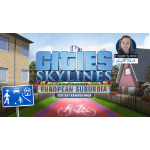 Paradox Interactive Cities: Skylines - European Suburbia, PC/Mac/Linux Video game downloadable content (DLC) PC/Mac/Linux English