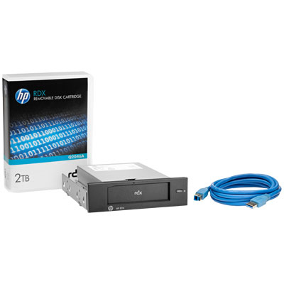 HP RDX 2TB USB3.0 Internal Disk Backup System