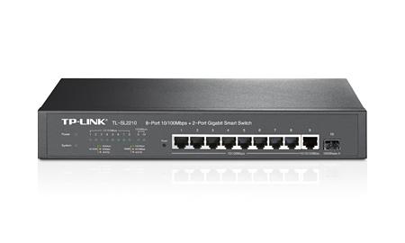 TP-LINK TL-SL2210 Managed network switch L2 Fast Ethernet (10/100) Black network switch